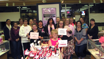 New Fundraising Trend – Jewelry Bingo – Helps Autocrafters CARSTAR Collision Rally Local Businesses to Raise Money for Breast Cancer Patient