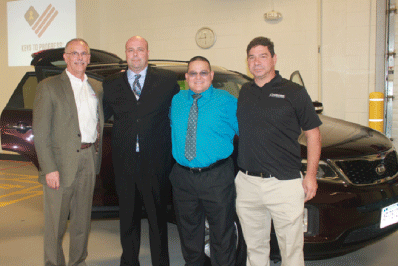PETE'S CARSTAR OF SOUTH WINDSOR AND PROGRESSIVE INSURANCE DONATED A CAR TO LOCAL VETERAN AS PART OF KEYS TO PROGRESSSM EVENT